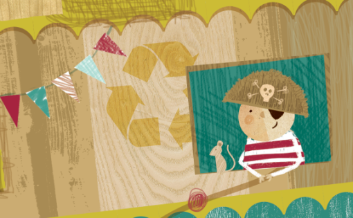 Sneak peek at commission for children's magazine 'Dream Caravan'