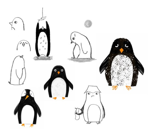 Penguins_sketches