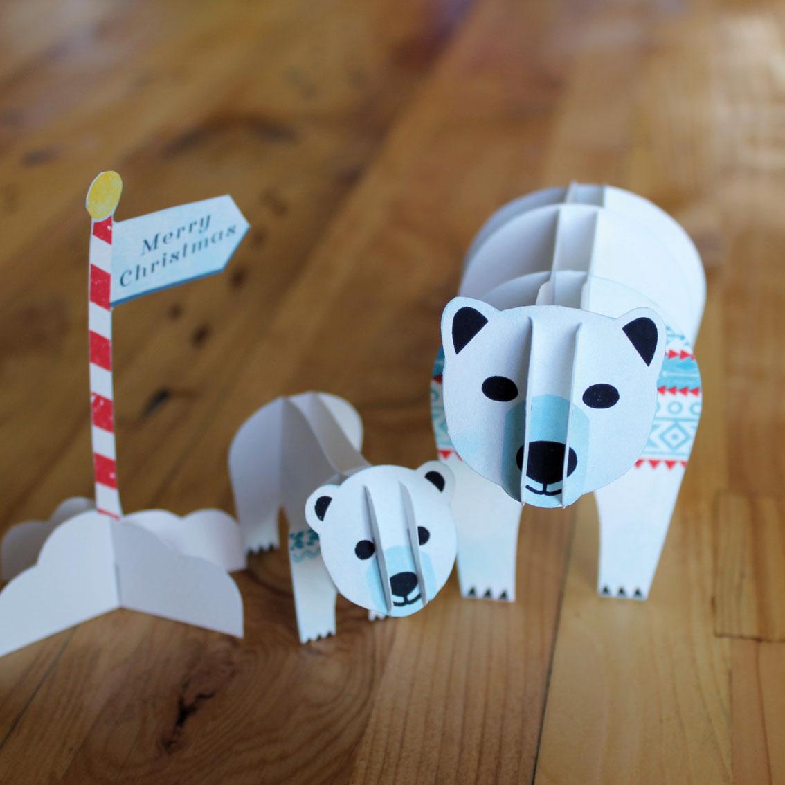 Polar Bear Christmas Cards | Kate McLelland